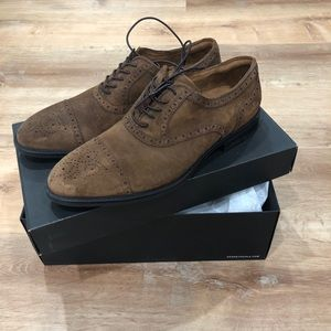 Kenneth Cole CAP TOE SUEDE OXFORD
